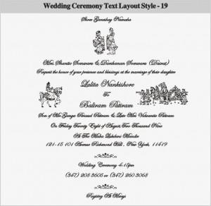 27 Photos of the hindu wedding invitation cards templates free ...