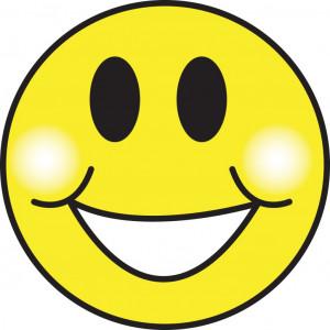 smiley face Hansna Mana Hai