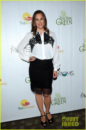Jennifer Garner: 'Odd Life of Timothy Green' Promotion!