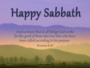 Happy Sabbath