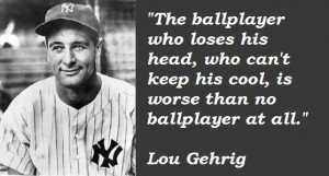lou gehrig quotes - Google Search