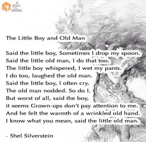 Little Boy & old man poem