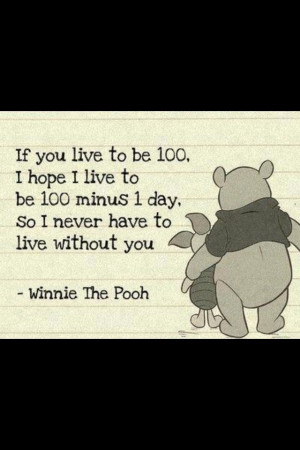 Lets grow old together.Together Forever, Pooh Bears, Winnie Pooh, My ...