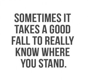 Know where you stand