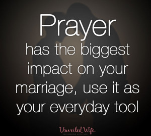 Prayer Has The Biggest Impact
