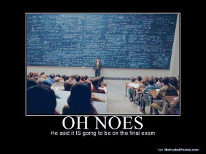 funny quotes final exams