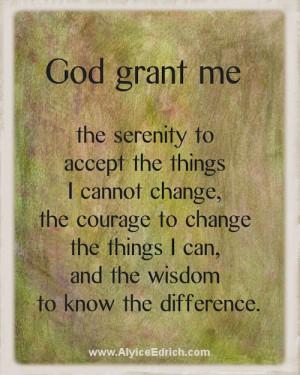 ... so many trials and tribulations in my life. www.AlyiceEdrich.com
