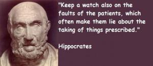 Hippocrates famous quotes 2