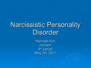 Narcissistic Personality Disorder Quotes