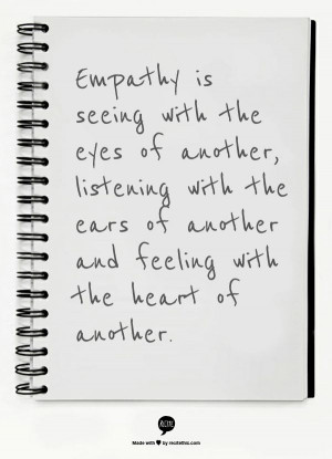 Care about the students you advise by showing empathy, understanding ...