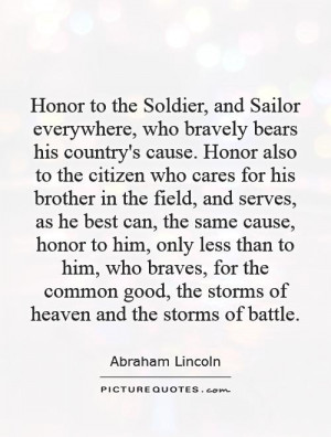 Honor Quotes And Sayings