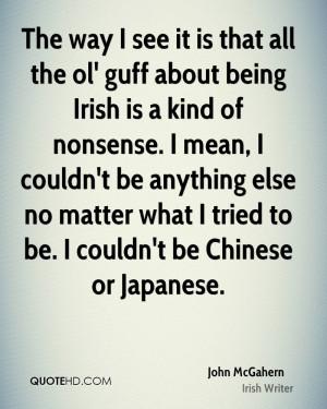 John McGahern Quotes