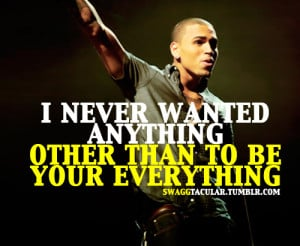 Chris Brown Quote Tumblr Picture