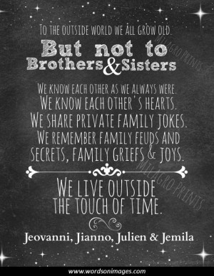 inspirational quotes about siblings