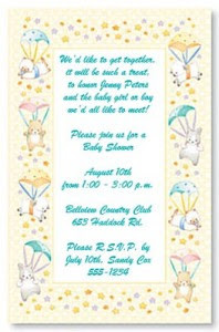 your baby shower invitation wording can set the mood of your shower do ...