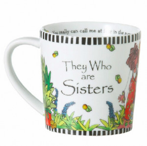 Suzy Toronto 39 39 They Who Are Sisters 39 39 Mug on the inside of the ...