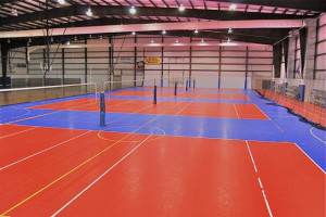 Volleyball Courts Practice Set