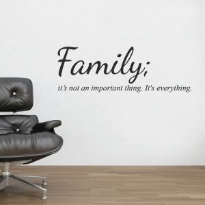 Wall Mural Stencils | Family Wall Sticker Decal Quote Mural Wall Vinyl ...