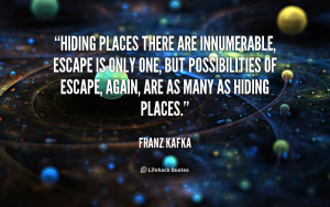Quotes About Hiding