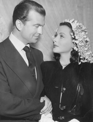 Hedy Lamarr and John Loder 1943