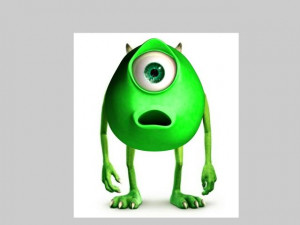 Monsters Inc Mike Wazowski