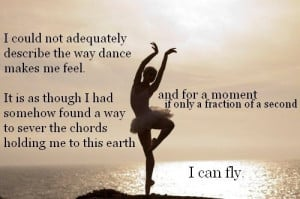 Awesome dance quote!