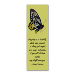 Butterfly Bookmark with 2015 Calendar Double-Sided Mini Business Cards ...