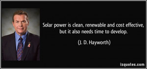 More J. D. Hayworth Quotes