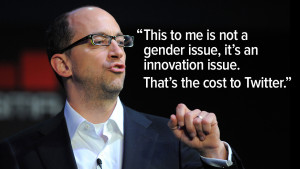 dick costolo quote meme this to me is not a gender issue its an ...
