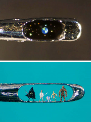 art crafts micro-sculpture Willard Wigan