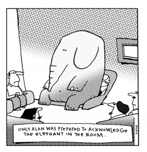 The Elephant in the Room...