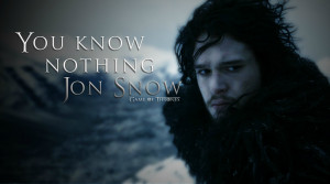 You Know Nothing Jon Snow Wallpaper (4)