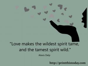 Wild Spirit Quotes The tamest spirit wild.