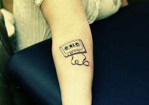 hipster #indie #vintage #tattoo