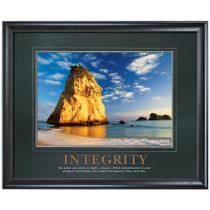 Integrity Cathedral Rock Motivational Poster (733455)