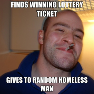 Finds Winning Lottery Ticket Gives To Random Homeless Man