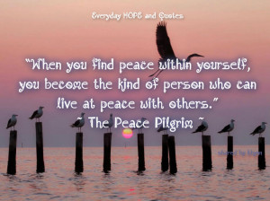 Yourself Quotes Peace Mind Strong