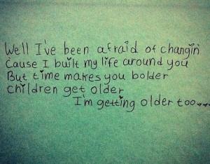 Landslide by Fleetwood Mac (Mother/Son Dance Song Lyrics)