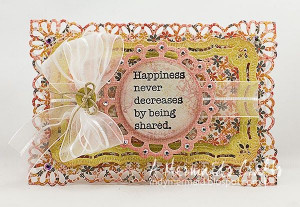 Mermaid's Crafts: Happiness Never Decreases By Being Shared ...