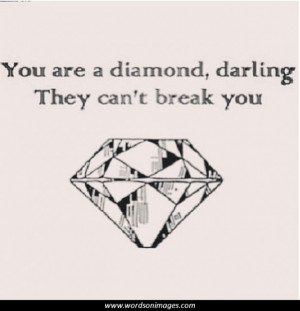 Diamond quotes