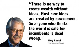 Gary Hamel on New Ideas