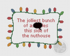 10) Name: 'Embroidery : National Lampoon Christmas Vacation