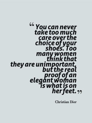 Christian Dior fashion quotes