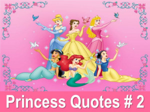 Disney Princess Life's Quotes # 2