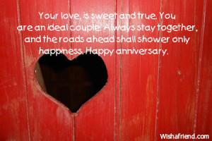 Happy Anniversary Quotes For Couples Happy anniversary.