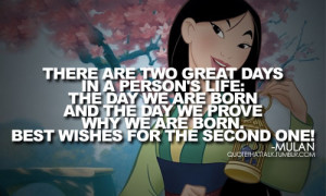 disney, life, mulan, quotes, true