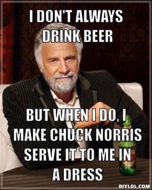 Hahaha dos Equis man kicked chuck norris ars!