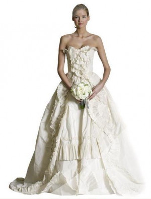 vestidos novias carolina herrera