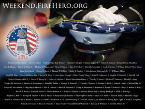 2013 National Fallen Firefighters Memorial Weekend Desktop Wallpaper