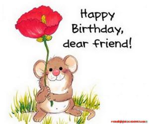 Happy Birthday, dear friend